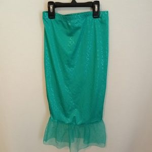 Mermaid fin girls size 4T